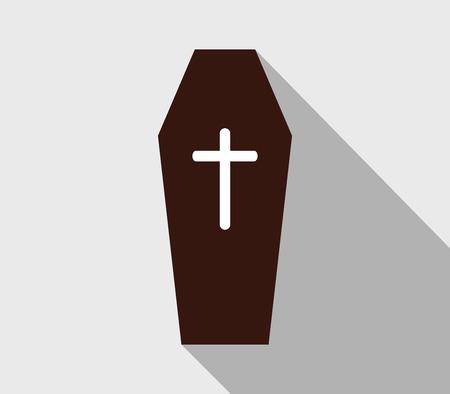 coffin: icon coffin