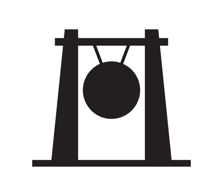 gong: icon gong Illustration