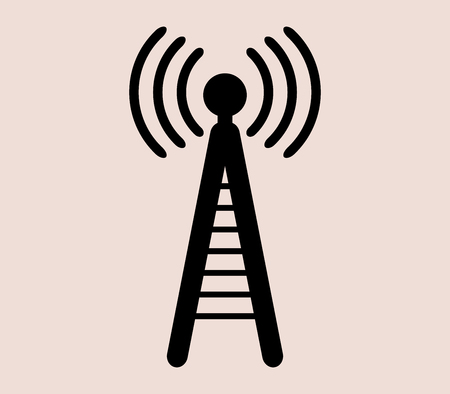 phone icon: icon cell phone tower