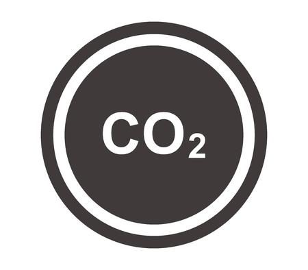 co2: icon co2 Illustration