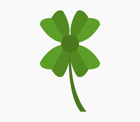 article icon: four-leaf clover icon Illustration