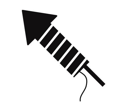 firecracker: icon firecracker Illustration