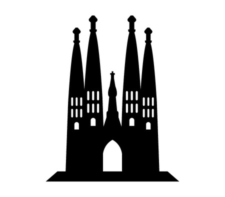 icon Sagrada Familia Illustration