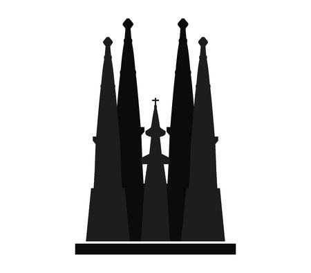 Icon Sagrada Familia Illustration