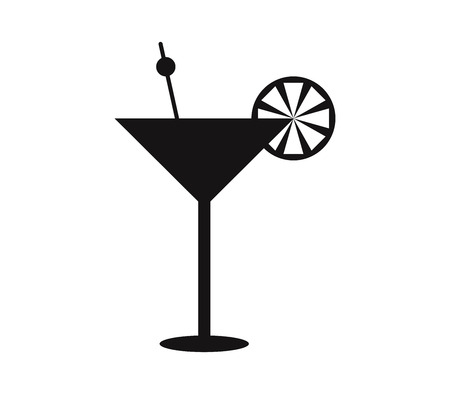 cocktail icon Illustration