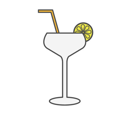 natures: cocktail icon Illustration