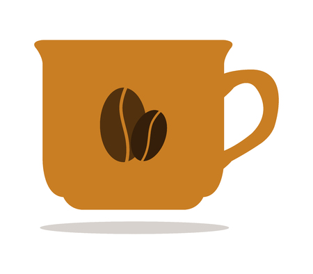 icon coffee mug Illustration