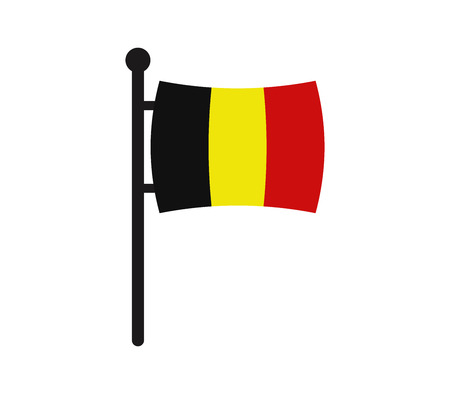 Icon flag of belgium