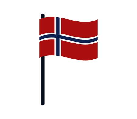 calendar icon: flag of Norway