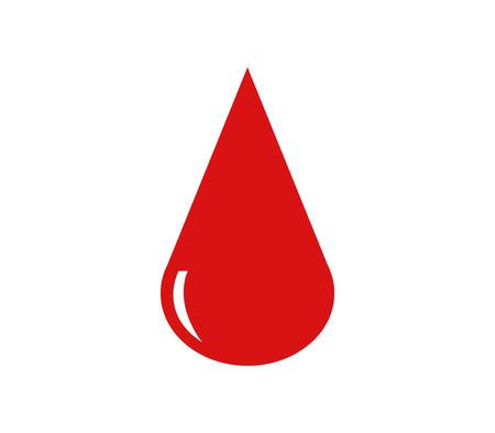 calendar icon: Icon drop of blood