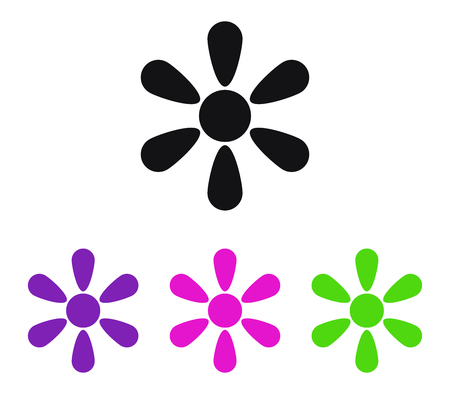 article icon: Set of flowers Illustration