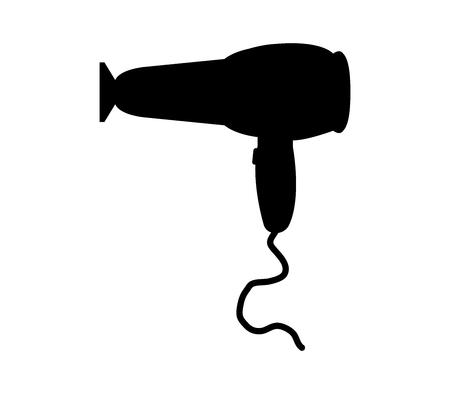 hairdryer: Hairdryer icon Illustration