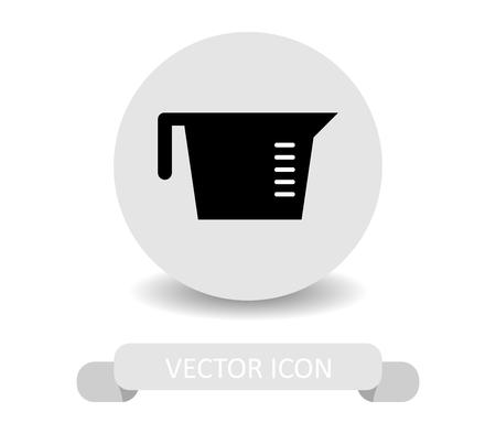 pictogram maatbeker