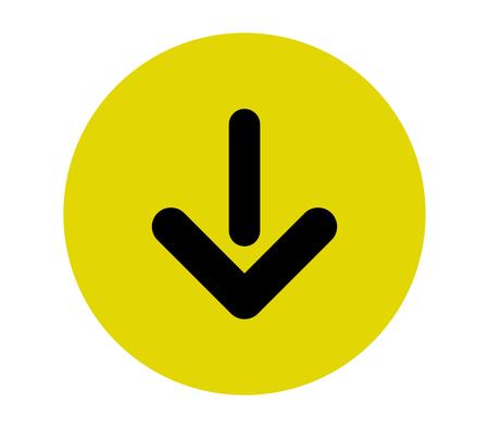 Arrow icon Stock Vector - 90193218