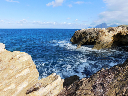 sea ??with cliffs