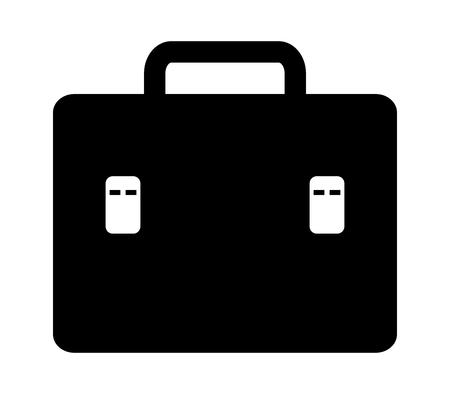 Icône de valise de travail Banque d'images - 90773017