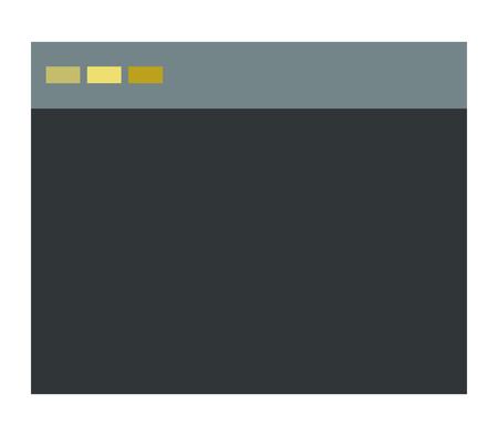 Browser icon Illustration