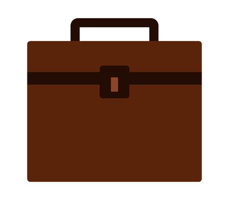Icône de travail de valise Banque d'images - 90774366