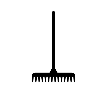 Rake icon Stock Illustratie