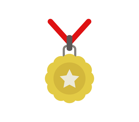Medal icon. Illustration