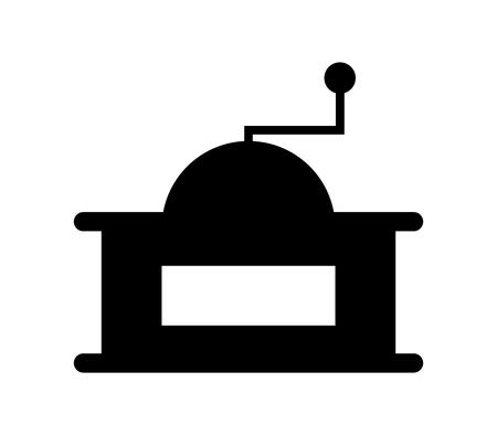 Coffee grinder icon. 向量圖像