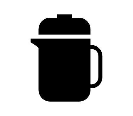 Black Coffee plunger icon