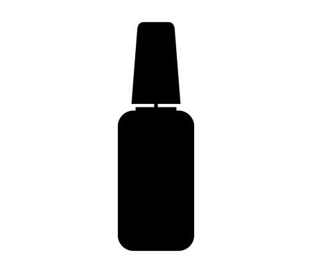 Nail polish icon.