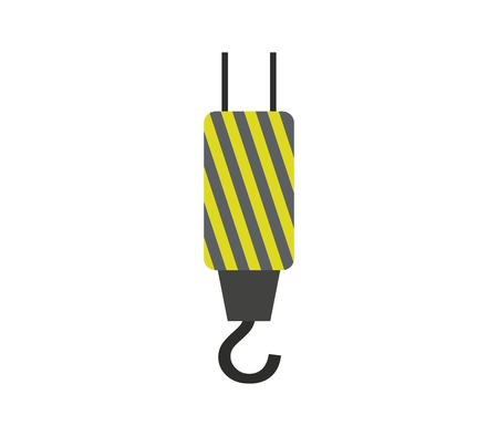 Crane hook icon. Ilustração