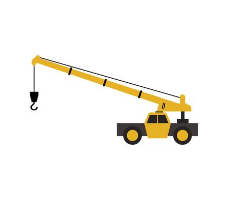 Crane icon. Ilustrace