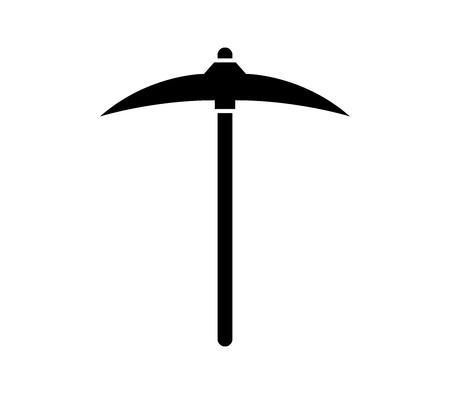 pickaxe icon Illustration