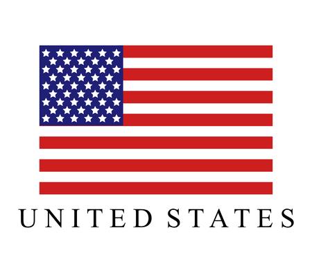 Ikona flagi Stanów Zjednoczonych.