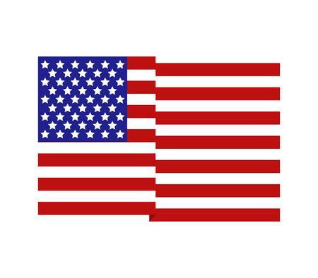 états-unis drapeau de l & # 39 ;