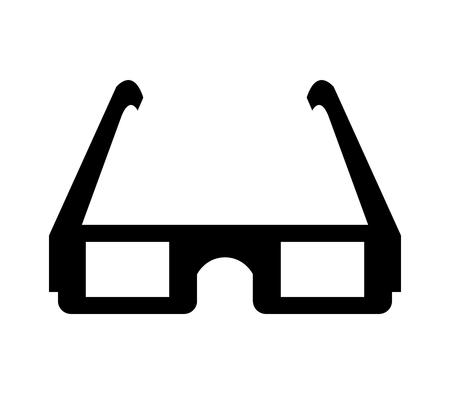 cinema glasses icon