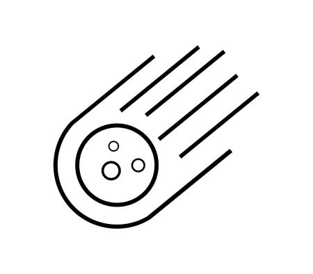 Meteorit Symbol