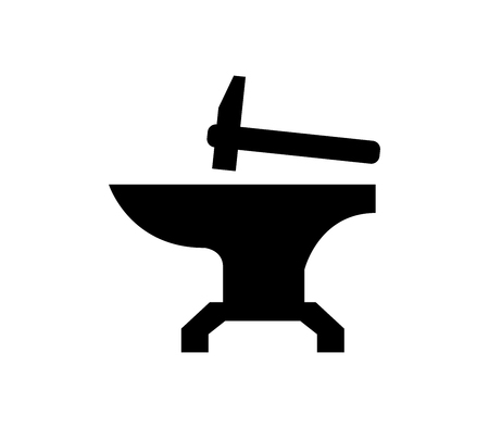 Anvil icon Ilustrace