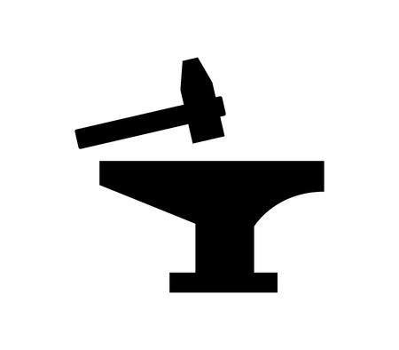 anvil icon Stock Illustratie