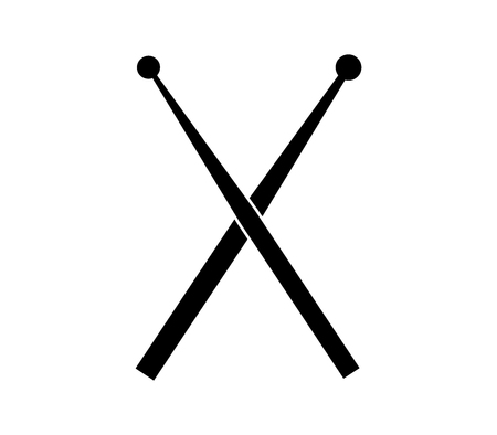 drum sticks icon