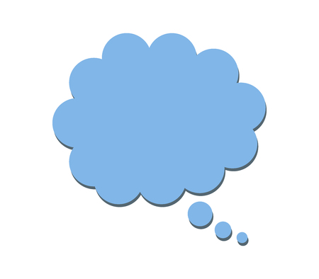 thought icon on white background