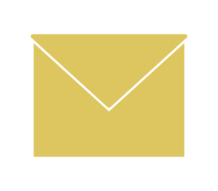 message icon on white background Stock Illustratie