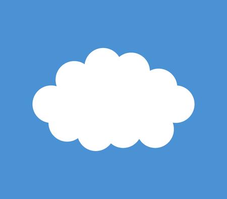 Cloud icon Banque d'images - 117272485