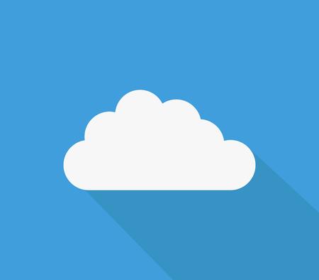 Cloud icon Фото со стока - 117272487