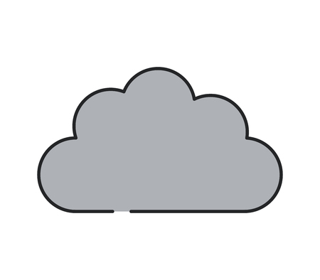 Cloud icon Фото со стока - 117272603
