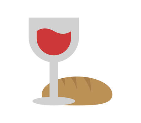 bread with wine