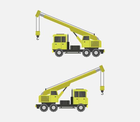 tower crane Векторная Иллюстрация