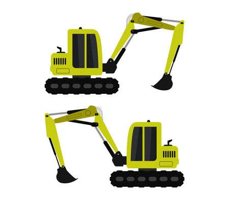 excavator Vetores