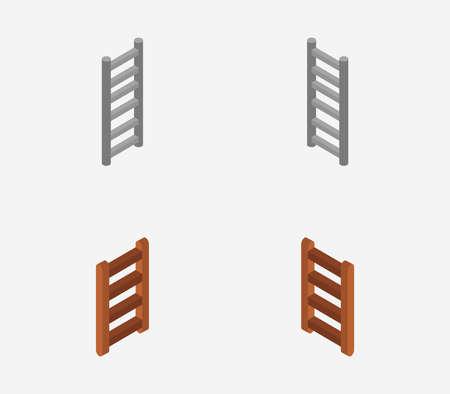 isometric ladder