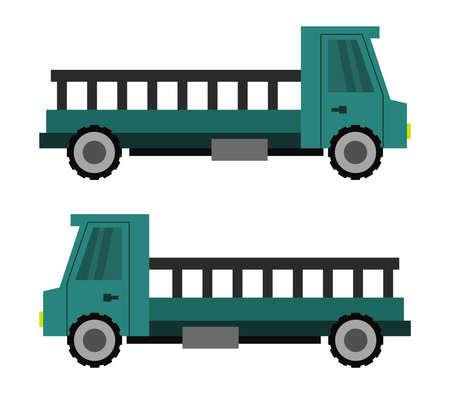truck illustration Stock Illustratie