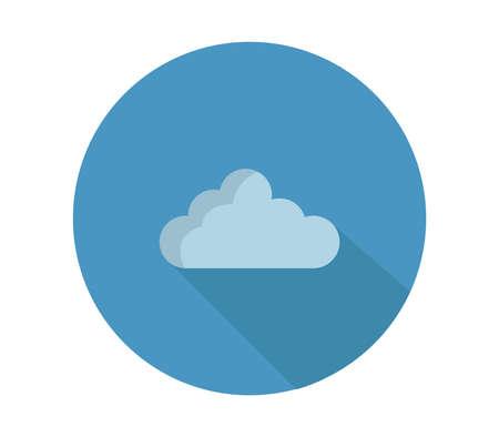 cloud illustration Stock Illustratie