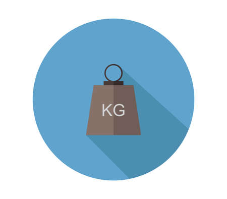 weight kilogram illustration 矢量图像