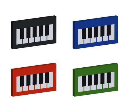 music keyboard  illustration